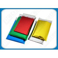 Colored Aluminum Foil Bubble Mailer Envelope Glamour Metallic Bubble Mailers Bags Manufactures