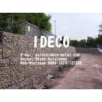 Gabion Retaining Walls, Gabion Baskets for Floodwalls, Double Twisted Woven Gabion Boxes, Hexagonal Mesh Gabions Cages Manufactures