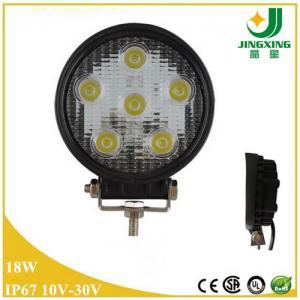 24v led tractor working lights / 18w led work light Manufactures