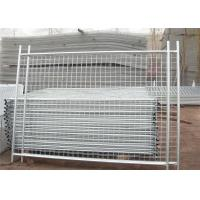 Customized Secure Temporary Fencing Construction Fence Panels 22.00kg  Manufactures