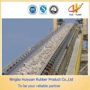 Quality Black Ep Conveyor Belt for Transporting Bulk Materials for sale