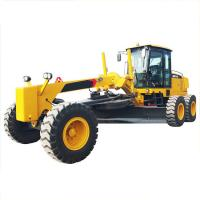 Small Motor Graders , GR215 Blade Grader With Weichai Engine And Zf Gearbox Manufactures