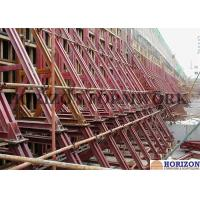 Heavy Strength One Sided Concrete Formwork Waterproof Surface 8.9m Height  Manufactures