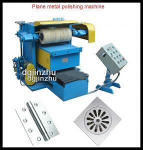 Semi Automatic Electrical Polishing Machine , 15kw Metal Polisher Machine