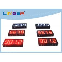 200mm Height Gas Station Led Signs , Led Fuel Price Signs Various Styles Manufactures