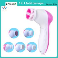 hot 5 in 1 multifunction electric face cleansing brush sap skin care facial massager syste Manufactures