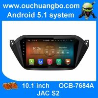 China Ouchuangbo car gps navigation android 5.1 for JAC S2 with wifi 1080HP video BT spanish free Peru Russia map on sale