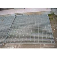 Hot Dip Galvanized Steel Grating 300 - 1000mm Width 300 - 6000mm Length Manufactures