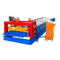 China Easy Operation Steel Tile Forming Machine , Roof Tile Forming Machine Material Width 1250mm on sale