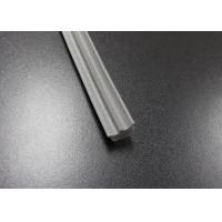 Gray Long Side EPDM Rubber Extrusion Embedded , Window Weather Stripping Manufactures