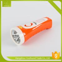 China BN-175-1 Rechargeable LED Flashlight without Side Lamp LED Torch on sale