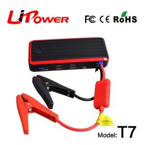 12V 12000mAh mini portable car jump starter power bank auto starter with led flash light Manufactures