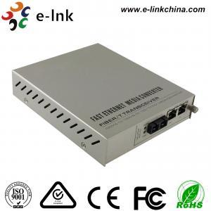 Managed Gigabit Ethernet Fiber Media Converter 2- Port 10 / 100 / 1000Base-T to 1000 Base-X Manufactures