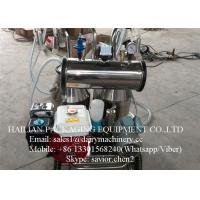 China Electric and Petrol Milking Machine , Gasoline Milker Machine on sale