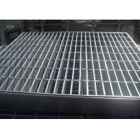 Welded Bar Grating Heavy Duty Steel Grating Banding Untreated Surface Manufactures