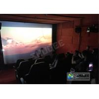 Indoor Play Area 5D Movie Theater For Kids And Adults With Special Effects Manufactures