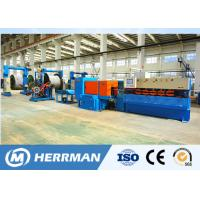 Aluminum Alloy Interlock Cable Armouring Machine For Cable Manufacturing Plant High Potency Manufactures