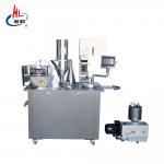 Advanced Touch Screen Semi Automatic Capsule Filling Machine Oil Vacuum Pump Manufactures