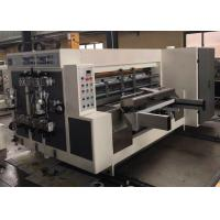 Multicolor Water Base Flexo Printer Slotter Machine Automatically CE Certification Manufactures