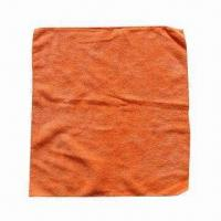 Microfiber Cleaning Cloth, Measures 40 x 38cm, Various Colors and Sizes are Available Manufactures