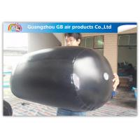0.9mm PVC Tarpaulin Black Inflatable Advertising Balloons Airtight OEM / ODM Manufactures