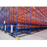 High Density Mobile Racking Storage Systems Adjustable Pallet Racking System Manufactures