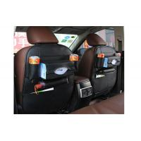 China Fashionable Passenger Seat Organizer PU Leather Material With Multi Pocket on sale