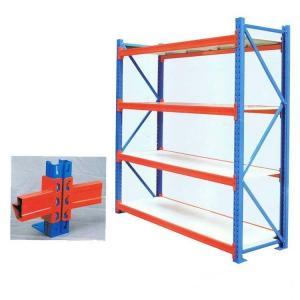 Supermarket Heavy Duty Warehouse Shelving  Longspan Drive Through Type Manufactures