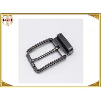 Customized Reversible Metal Belt Buckle With Drum / Garment Accessory Manufactures