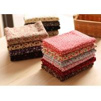 98% Cotton 2% Spandex Candy Floral Corduroy Fabric Fabric Manufactures