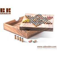 Chinese Checkers - wooden board game wood board game strategy game wood game Manufactures