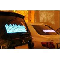 Music Activated LED Equalizer Car Sticker For Window Powered By Cigarette Lighter DC12V Manufactures