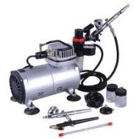 Stable Air Flow Auto Stop Professional Low Noise Airbrush Tattoo Kit Machine for Body Art Manufactures