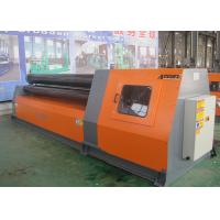 Durable Mechanical Hydraulic Rolling Machine Steel Plate Bender Long Life Span Manufactures