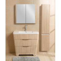 Home Hardware Premade Bathroom Vanities Conical Apearance Soft Hingers Multi Color Size Manufactures