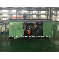 Diesel Driven Screw Air Compressor Easy Serviceability For Water Well Drilling Rig Manufactures