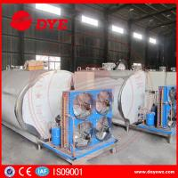 Vertical Or Horizontal Milk Cooling Tank Farm Refrigerated Horizontal Manufactures