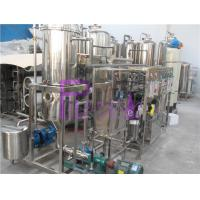 1000L/H Vacuum Deaerator Juice Processing Equipment With SUS304 Vacuum Degassing Machine Manufactures