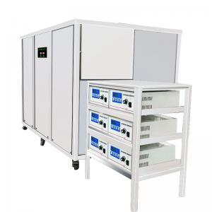 Aerospace Part Ultrasonic Metal Cleaner Degrease / Washing 1000L Separate Control Generator Manufactures