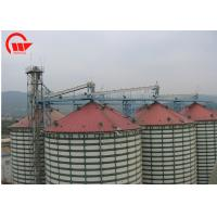Fully Enclosed Automated Conveyor Systems , Grain Belt Conveyor For Storage Silo Manufactures