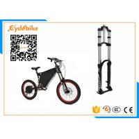 5000W Full Suspension Electric Assist Bike 72V , Stealth Bomber Electric Bike Bicycle For Snow / Beach Manufactures