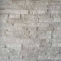 Cultured Marble Stone Natural stone Grey Wooden Vein Marble Culture Stone, Ledge Panel WSM-007 Manufactures