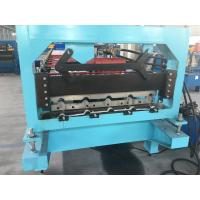 China 7.5KW Roofing Sheet Roll Forming Machine 3.5T Roof Panel Roll Forming Machine on sale