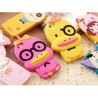 China Cute Duck shape mobile phone case for Iphone, Silicone phone case on sale