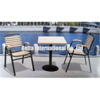 Quality Sell wood table and chairs DWS-017 for sale
