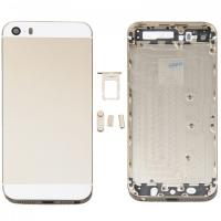 Original 4 inch Mobile Phone Housing iPhone 5S Battery Cover With SIM Card Tray / Buttons Manufactures