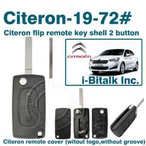 China Citeron flip remote key shell 2 button on sale