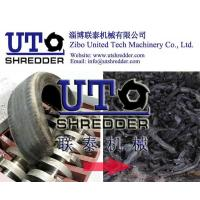 China hot sale - Car/ truck tyre crushing machine, waste tire shredder, double shaft shredder, high efficiency, low noise on sale