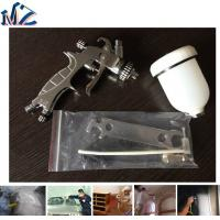 China 2017 Mini HVLP 125CC gravity air spray gun for topcoat painting high quality wholesale