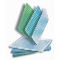 Twin-Wall Polycarbonate Sheet / PC Hollow Sheet Manufactures